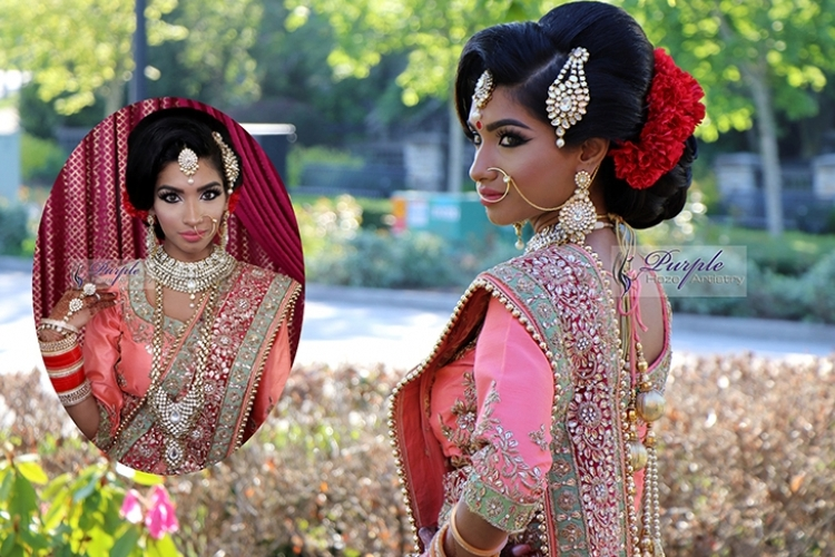 Vancouver Indian Bridal Make-Up & Hair Artists