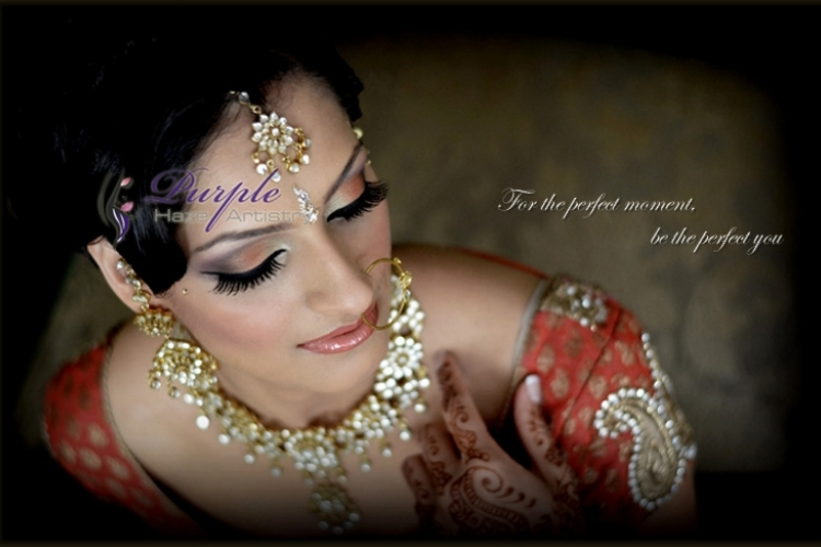 Purple Haze Artistry - Vancouver Indian Bridal Make-Up & Hair Artists