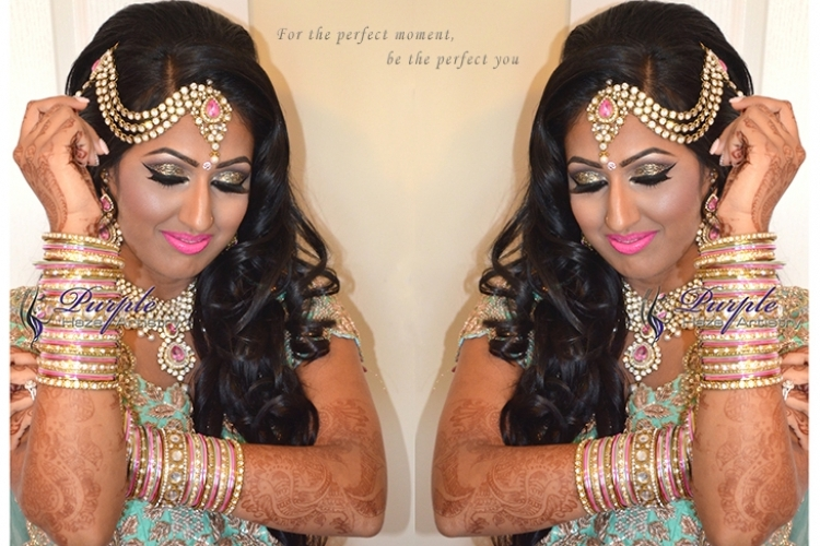 Purple Haze Artistry - Indian Bridal Make-Up and Hair Artists