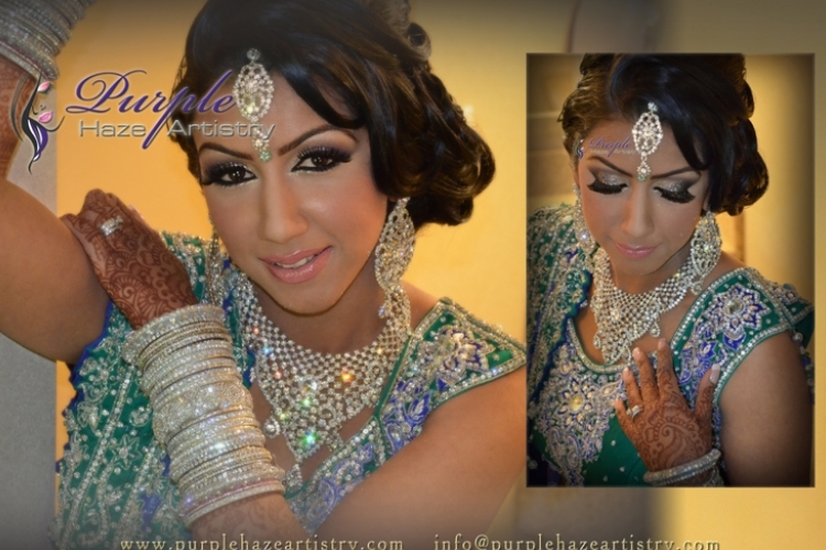 Purple Haze Artistry - Indian Bridal Make-Up Artists