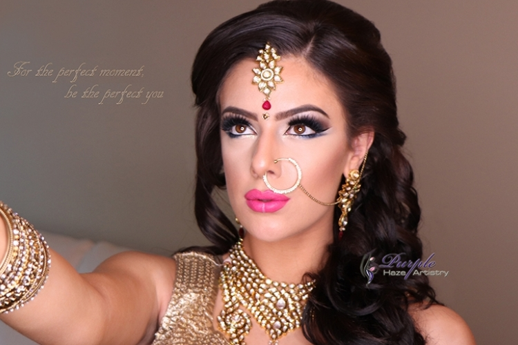 Purple Haze Artistry - Vancouver Indian Bridal Make Up and Hair Artists