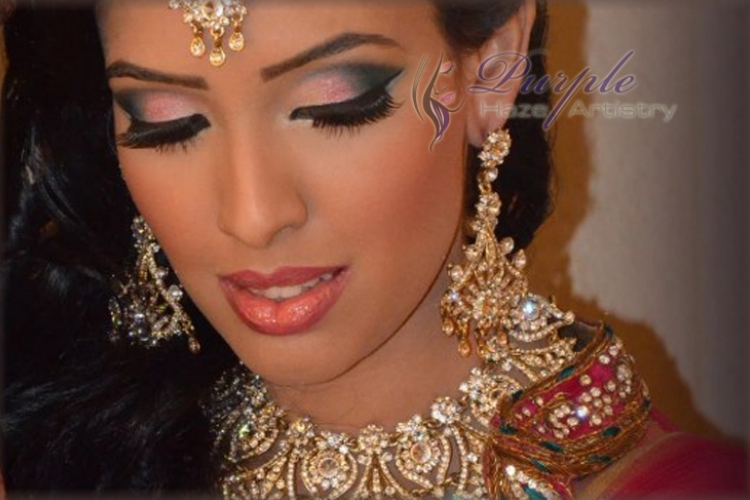 Purple Haze Artistry - Vancouver Indian Bridal Make-Up and Hair Artists