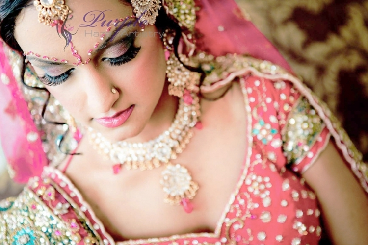 Purple Haze Artistry - Vancouver Indian Bridal Make-Up